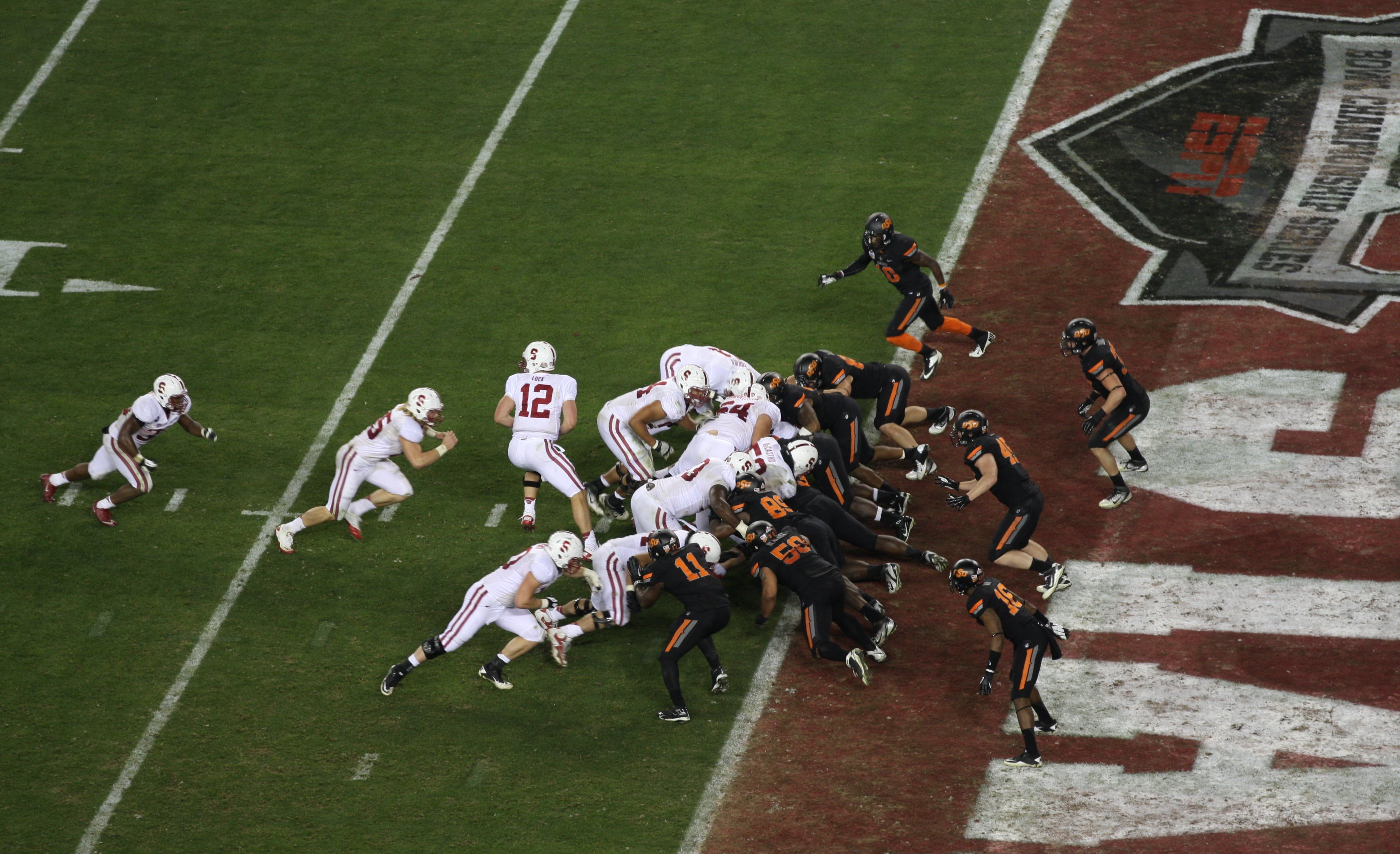 A Bait and Switch Fiesta: How Oklahoma State's defense revealed chinks in Andrew Luck's armor.