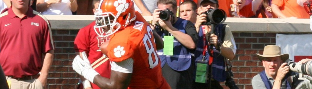 Blocking Clinic: Clemson TE Dwayne Allen