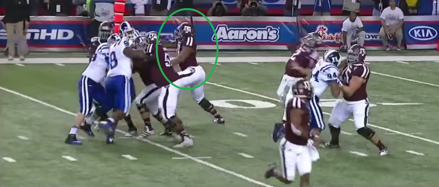 RSP Film Room No.9: Texas A&M OT Cedric Ogbuehi