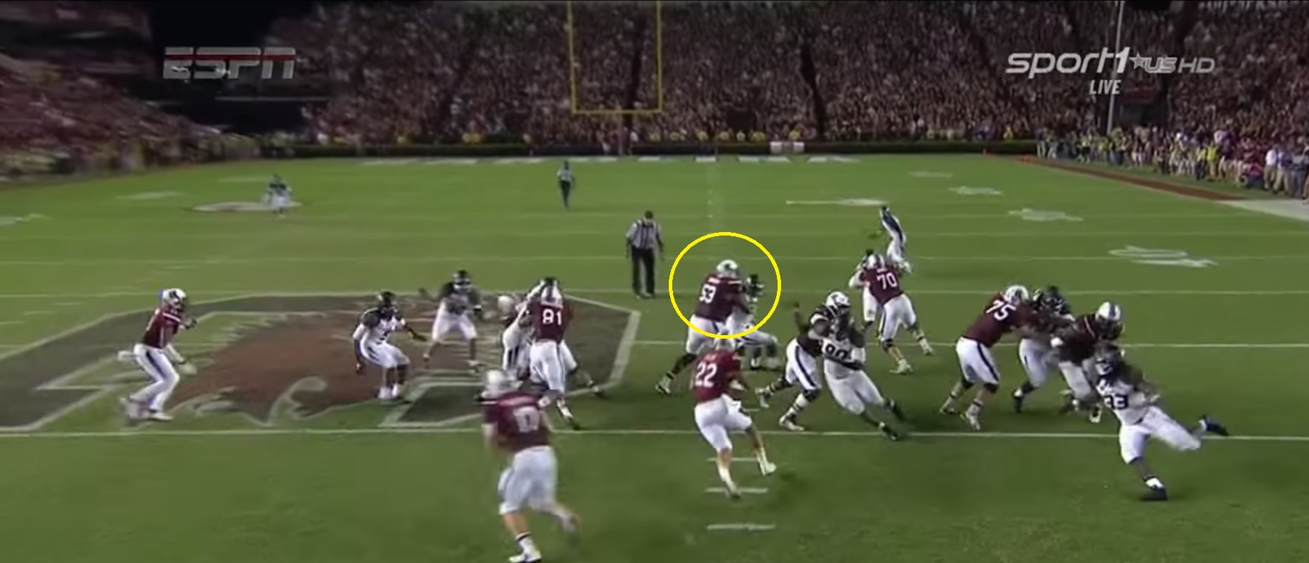 RSP Film Room No.10: South Carolina OT Corey Robinson