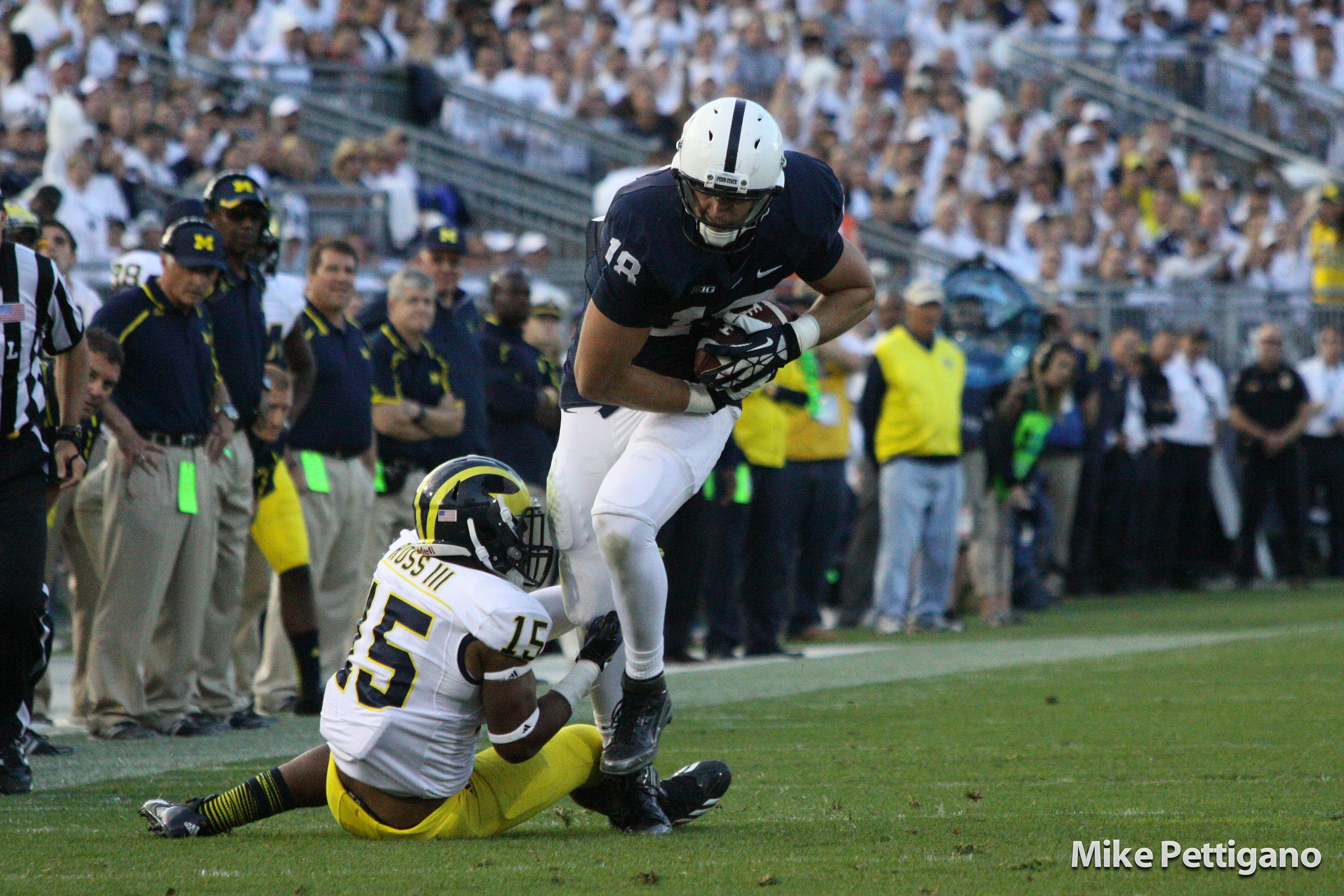 Boiler Room: Jesse James Penn State TE