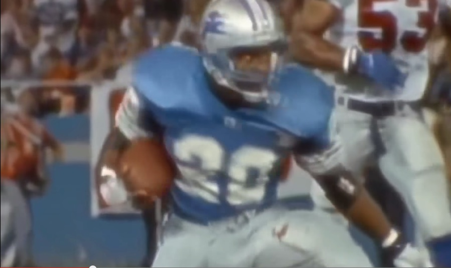 Waldman's RB Cut-Down to Defend the Planet: No.2 Barry Sanders