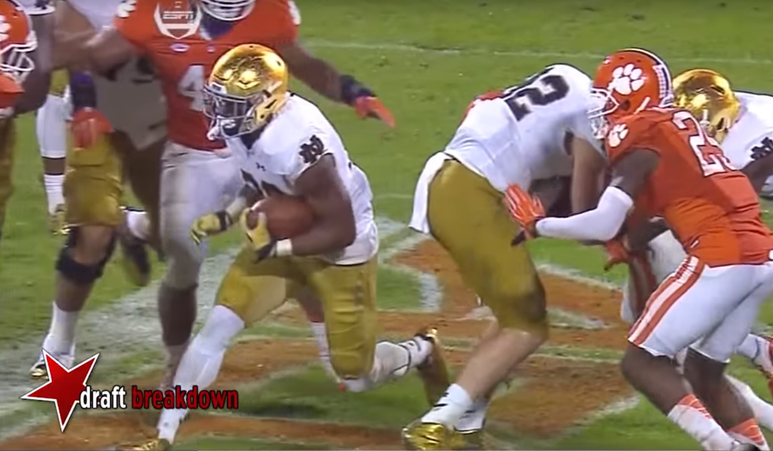 RSP Film Room No.60: Notre Dame RB C.J. Prosise w/Brandon Howard