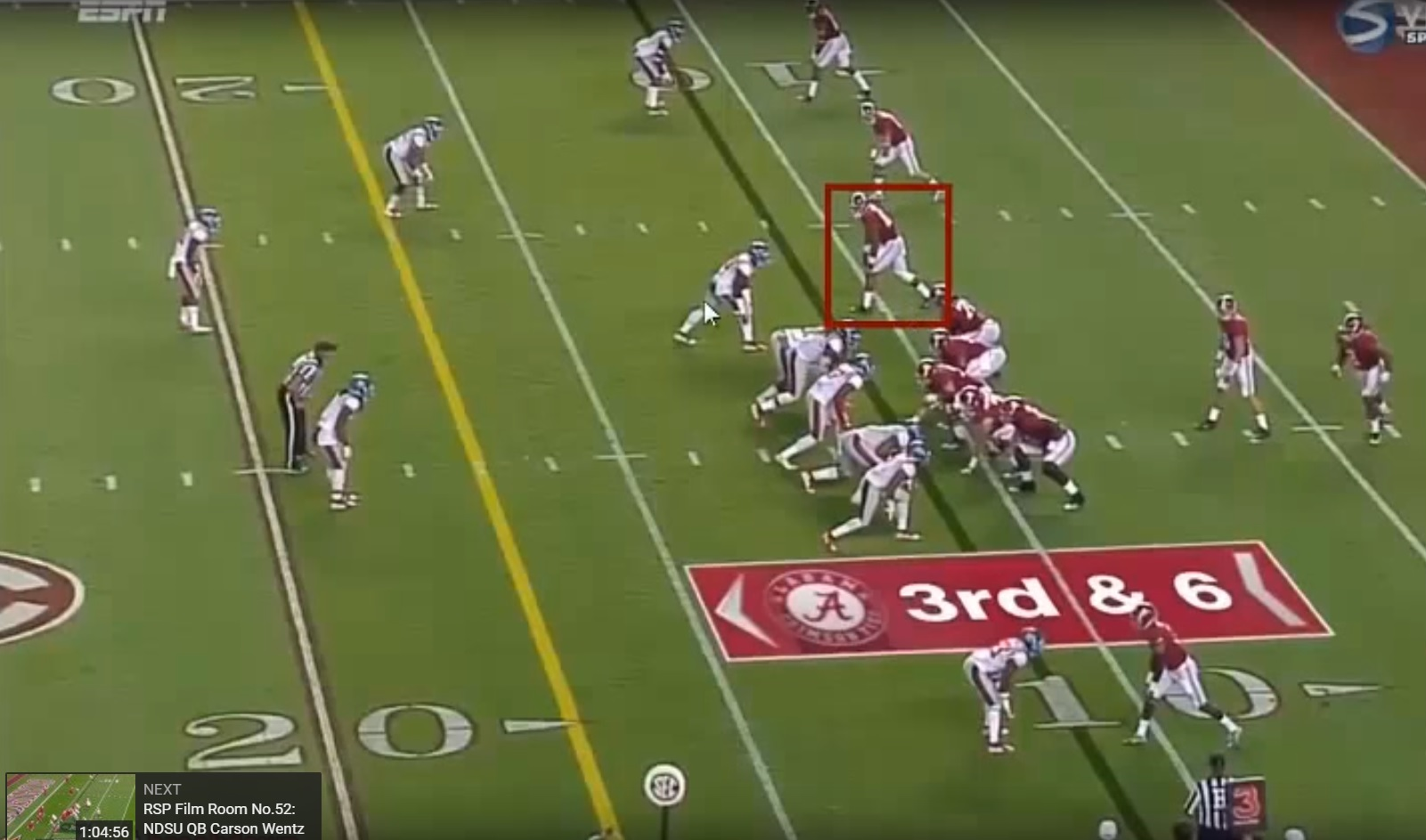 RSP Boiler Room No.6: TE O.J. Howard, Alabama