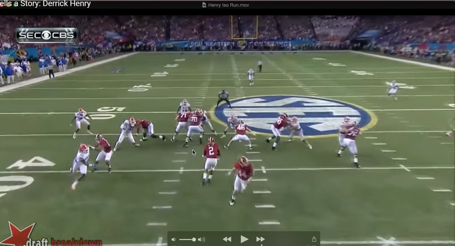 Every Play Tells a Story: RB Derrick Henry & Forcing the Counter
