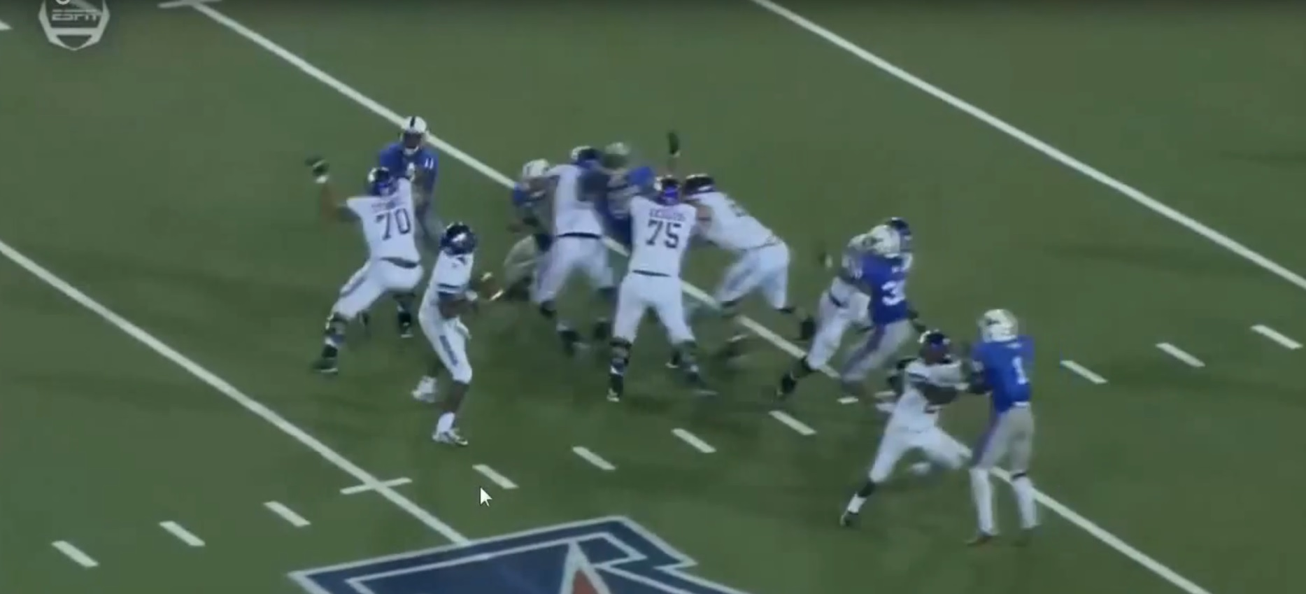 RSP Boiler Room No.30: QB Vad Lee-Line Calls & Footwork