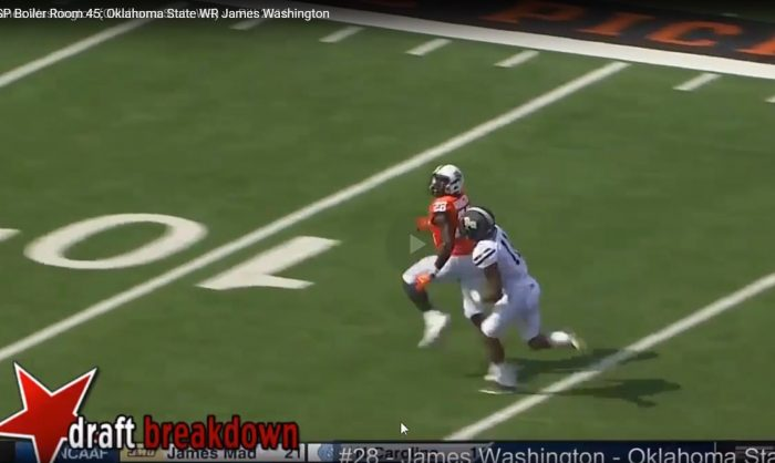 RSP Boiler Room No. 116: WR James Washington (OK St.) Vertical Prowess