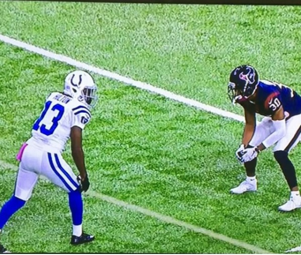 NFL Lens: Tight Coverage With T.Y. Hilton