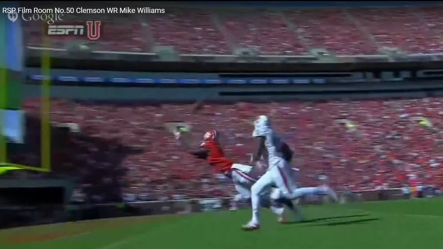 RSP Film Room No. 50 – WR Mike Williams (Clemson) w/ Matt Harmon