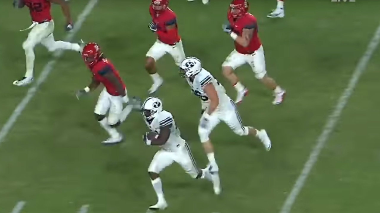 RSP Boiler Room No.50: RB Jamaal Williams, BYU