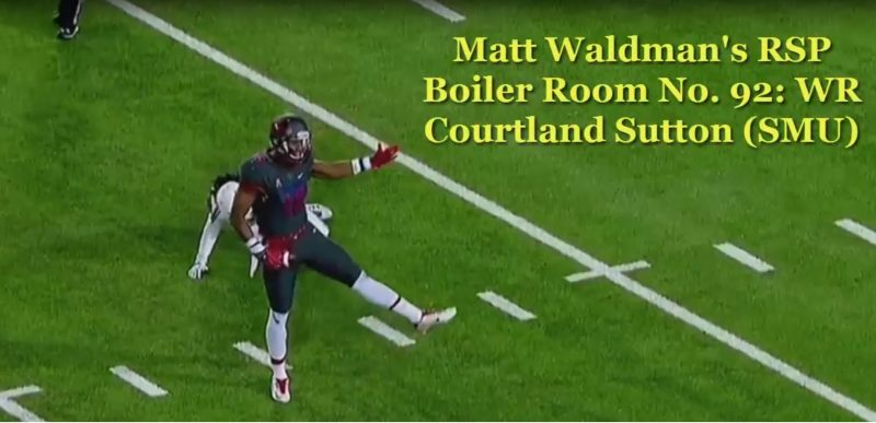 RSP Boiler Room No. 92: WR Courtland Sutton (SMU)