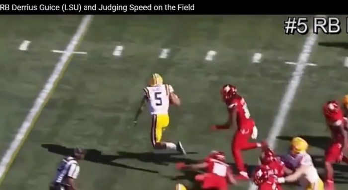 RSP Boiler Room No. 95: RB Derrius Guice (LSU) and Judging On-Field Speed
