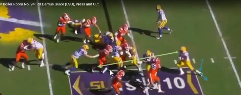 RSP Boiler Room No. 94: RB Derrius Guice (LSU), Press And Cut
