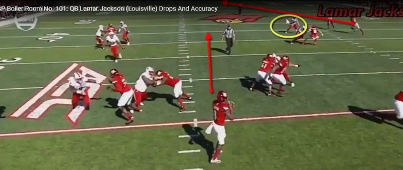 RSP Boiler Room No. 101: QB Lamar Jackson (Louisville) Drops And Accuracy
