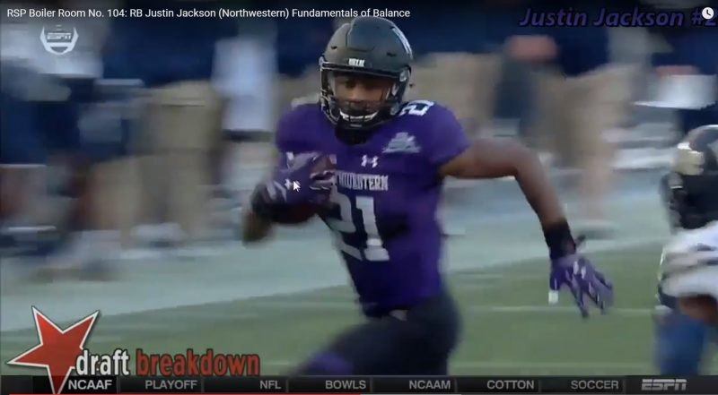 The Justin Jackson (RB Northwestern) Boiler Room Festival