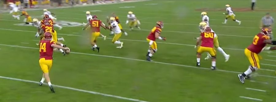 Sam Darnold: Extended Aggression
