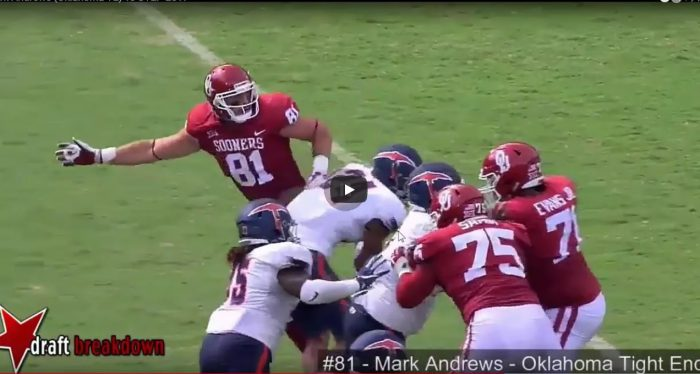 RSP Boiler Room No. 110: TE Mark Andrews (Oklahoma)