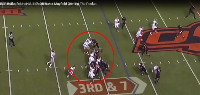RSP Boiler Room No. 117: QB Baker Mayfield (Oklahoma) Owning The Pocket