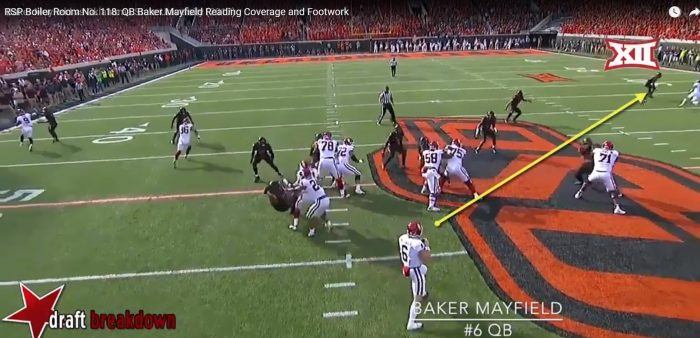 Matt Waldman's RSP Boiler Room No. 118: QB Baker Mayfield, Coverage Reads, And Footwork