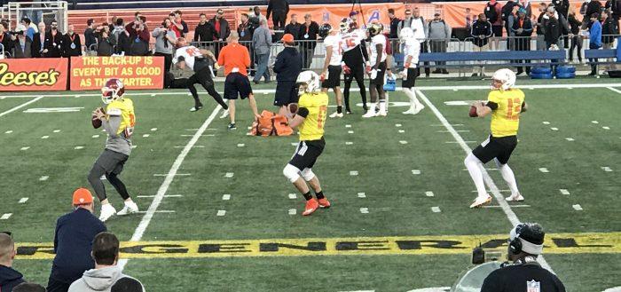 2018 Senior Bowl North Practice (Day 2)