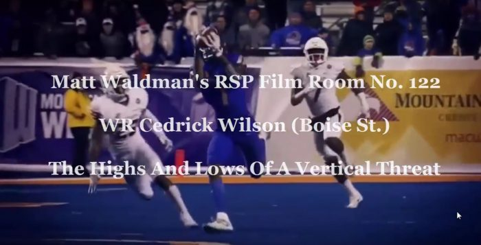 RSP Film Room No. 122: WR Cedrick Wilson (Boise State)