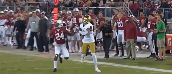 Matt Waldman's RSP Film Room No. 131: WR Equanimeous St. Brown (Notre Dame) Tracking And Catching