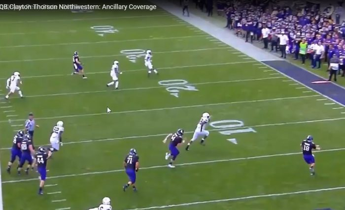 RSP Boiler Room No. 139 QB Clayton Thorson Northwestern: Ancillary Coverage