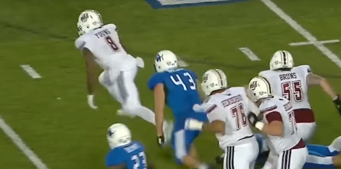Matt Waldman's RSP Boiler Room No. 152 RB Marquis Young (UMass): Pass Protection