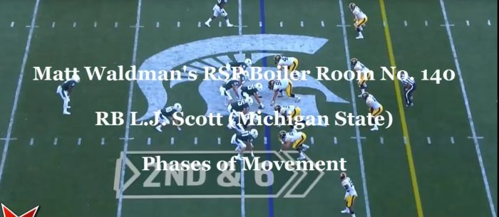 Matt Waldman's RSP Boiler Room No. 140: RB L.J. Scott (Michigan St.) and Phases of Movement