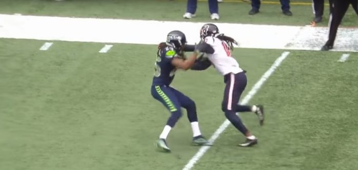 RSP NFL Lens DeAndre Hopkins vs. Richard Sherman: Tightrope Walking the Line of Legality