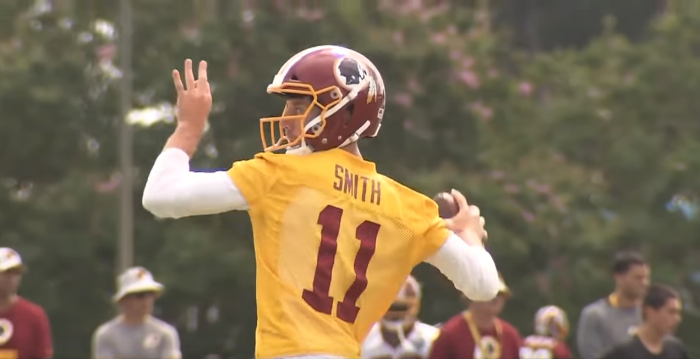 Matt Waldman's RSP NFL Lens QB Alex Smith (Washington): Deep Question Marks