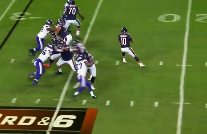 RSP NFL Lens Bears QB Mitchell Trubisky: Accuracy in Progress by Mark Schofield