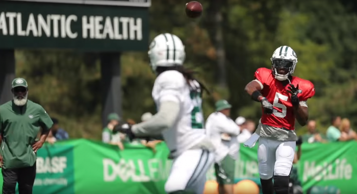 The RSP NFL Lens: Teddy Bridgewater (New York Jets) and Feel by Mark Schofield