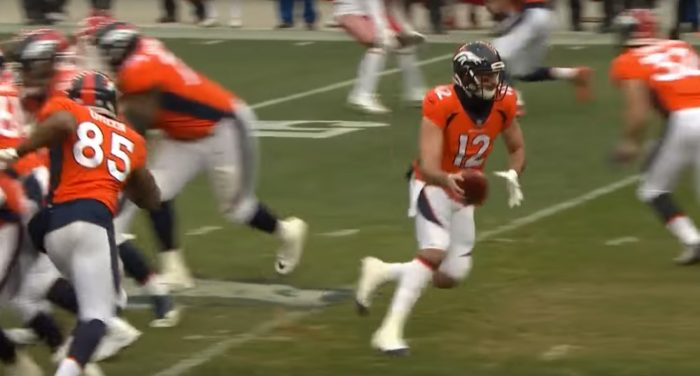 RSP NFL Lens Broncos QB Paxton Lynch's Red Zone Management: Then and Now…