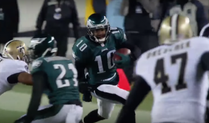 RSP NFL Lens WR DeSean Jackson Boundary Awareness