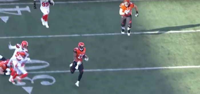 Matt Waldman's RSP NFL Lens RB Joe Mixon (Bengals): Flashes of the Exceptional