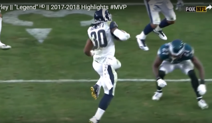 Matt Waldman's RSP NFL Lens RB Todd Gurley (Rams): Footwork and Movement
