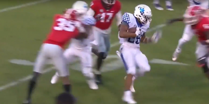 Matt Waldman's RSP Boiler Room No. 158 RB Benny Snell (Kentucky): Attacking in Tight Quarters