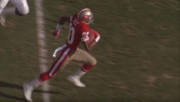 RSP Tweet of the Week: WR Jerry Rice's Route Running