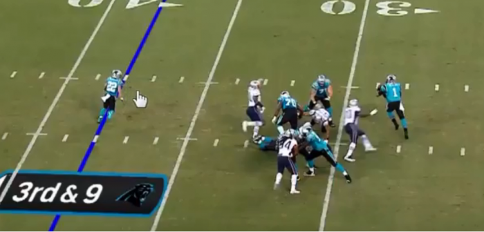 Matt Waldman's RSP NFL Lens QB Cam Newton (Panthers): Bad No-Throw Decision