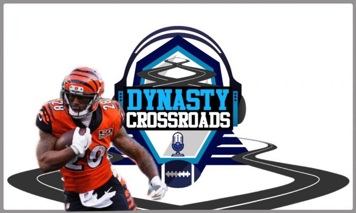 Matt Waldman's RSP on the Dynasty Crossroads Podcast: RB Joe Mixon (Bengals)