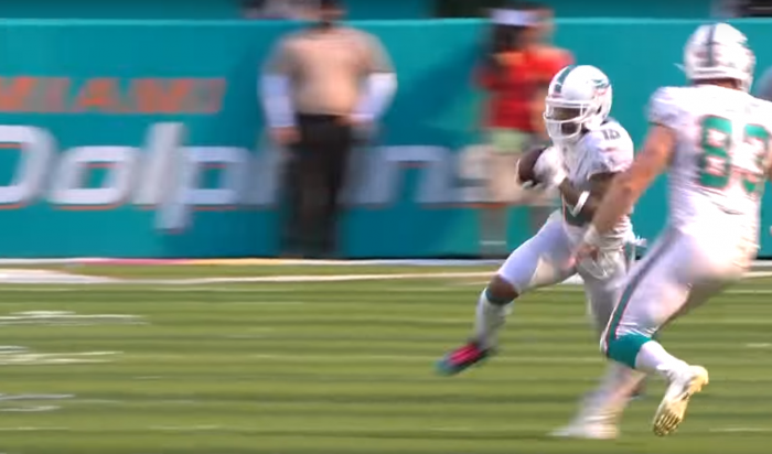 Matt Waldman's RSP NFL Lens WR Albert Wilson (Dolphins): Anatomy of the Speed Break