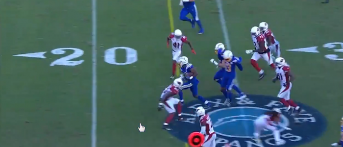 Matt Waldman's RSP NFL Lens: The Trinity of RB Justin Jackson's (Chargers) Game