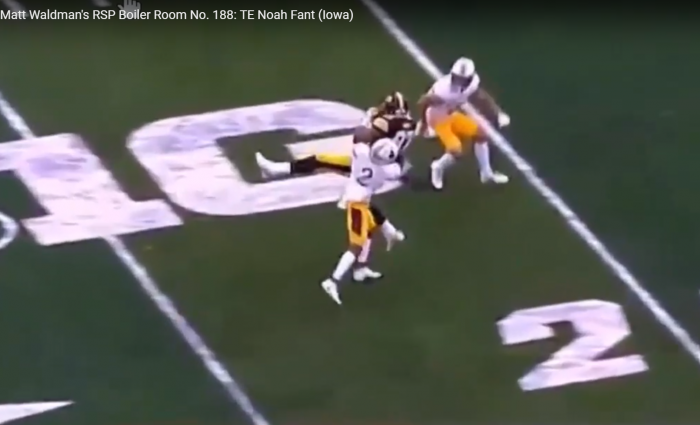 Matt Waldman's RSP Boiler Room No.188: TE Noah Fant (Iowa) and the Tough Target
