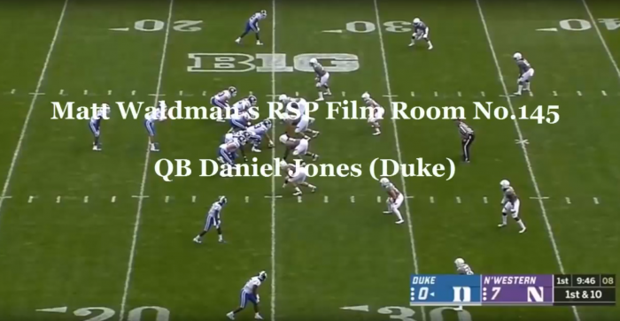Matt Waldman's RSP Film Room No.145: QB Daniel Jones (Duke)