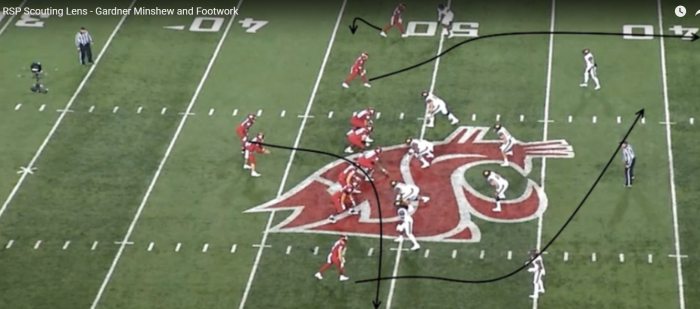 Mark Schofield's RSP Scouting Lens: QB Gardner Minshew (Washington St.) and Pocket Footwork