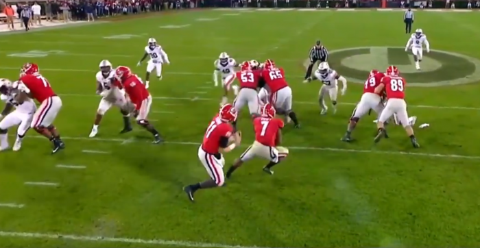Matt Waldman's RSP Boiler Room No.242 RB D'Andre Swift (Georgia): Patience Independent of the Offensive Line's Results
