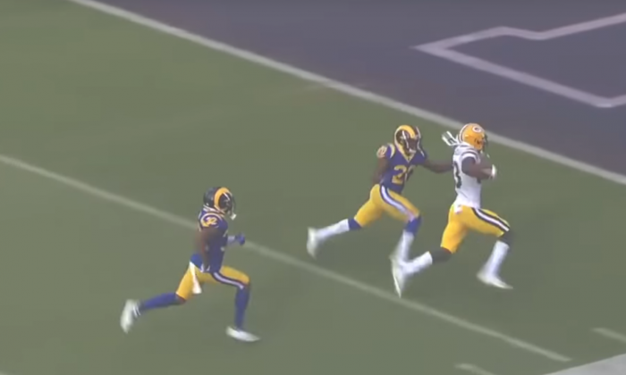 Matt Waldman's RSP NFL Lens: WR Marques Valdes-Scantling's (Packers) Stick, Dip, and Rip