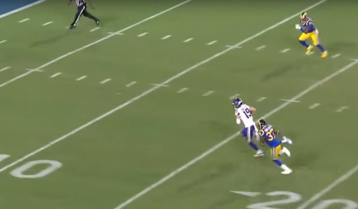 Matt Waldman's RSP NFL Lens: WR Adam Thielen (Vikings) Selling the Route with Feeling