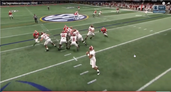 Mark Schofield's RSP Interception Project: Alabama QB Tua Tagovailoa